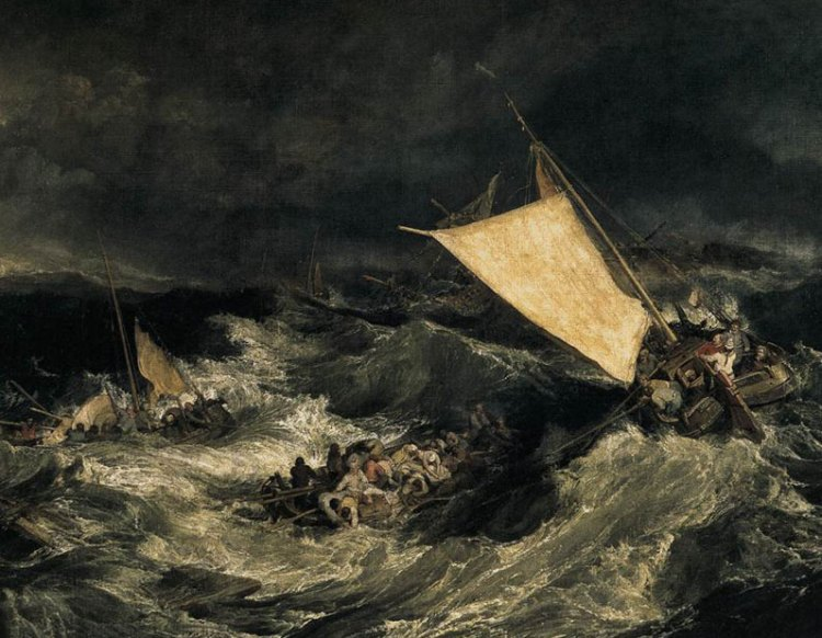Shipwreck, Joseph Mallord William Turner